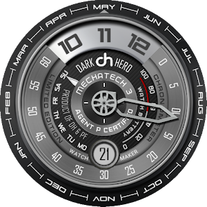 MechaTech 3 Uhr Gesicht android apps download