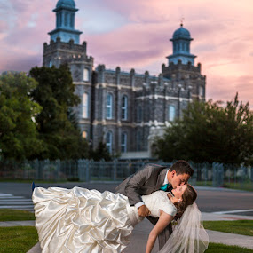 Fairytale Wedding by Glenn Pearson - Wedding Bride & Groom