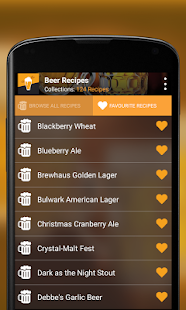 Home Brew Beer Recipes - screenshot