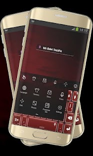 Red Model TouchPal - screenshot