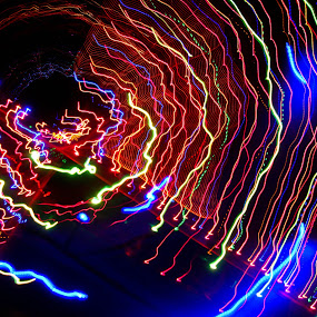 by Prerna Pathre - Abstract Light Painting