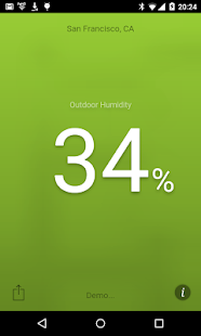 Humidity screenshot for Android