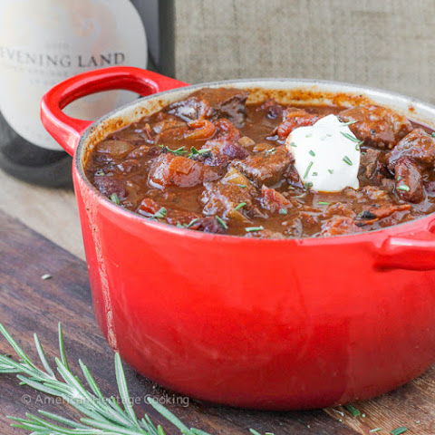 Rosemary Pinot Noir Steak Chili