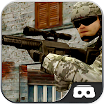 VR Counter Gunner City Gun War - Modern Commando Icon