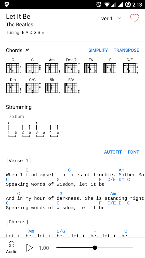 Ultimate Guitar Tabs & Chords APK Cracked Free Download | Cracked ...