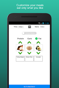 Fitness Meal Planner (No Ads)- screenshot thumbnail