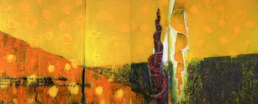 Sol Técnica mixta sobre tela 192 x 502 cm Miami 1998