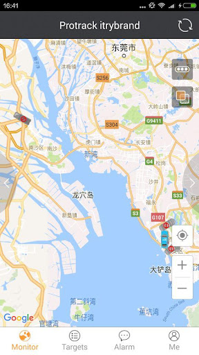 Protrack GPS screenshot 2