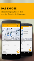 Screenshot of Immobilien, Wohnungen & Häuser