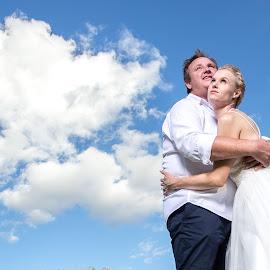 Sky by Lodewyk W Goosen (LWG Photo) - Wedding Bride & Groom ( wedding photography, wedding photographers, weddings, wedding, groom and bride, bride and groom, wedding photographer, bride, groom, bride groom )