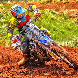 Motocross rider by Dirk Luus - Sports & Fitness Motorsports ( rider, mud, motocross, motorbike, motorcycle, dirt, motorsport )