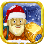 Gold Miner Xmas Icon