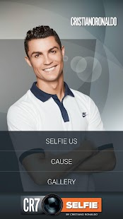 CR7Selfie Screenshot