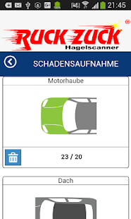 Hagelscanner - screenshot