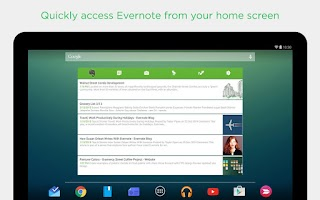 Screenshot of Evernote