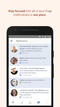 Facebook Pages Manager APK screenshot thumbnail 3