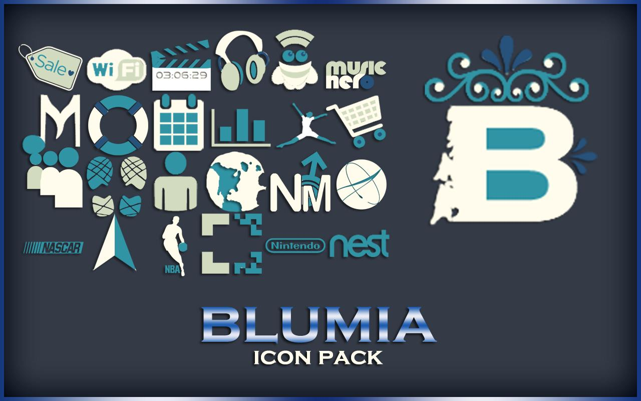 BlueMia - icon pack Screenshot 5