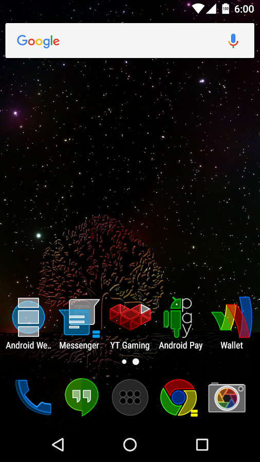 the1Lucent Icon Theme Screenshot