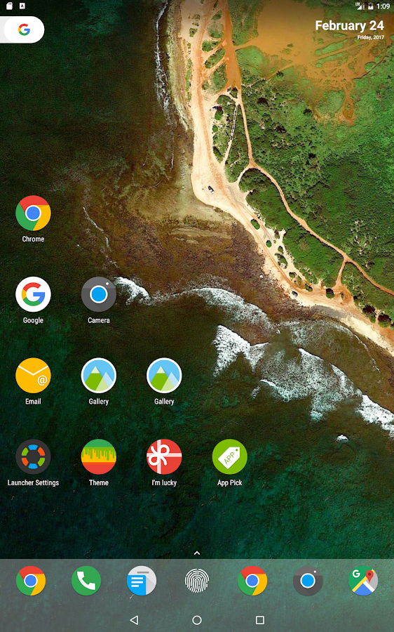 N Launcher Pro - Nougat 7.0 Screenshot 8