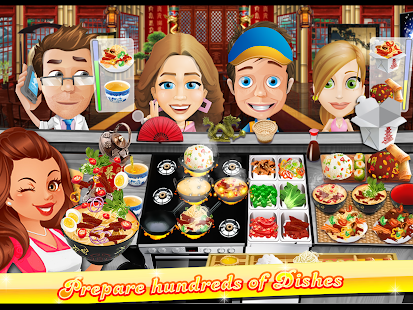 The Cooking Game APK for Bluestacks