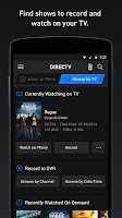 Screenshot of DIRECTV