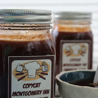 DIY Gifts in a Jar- CopyCat Montgomery Inn Barbecue Sauce FREE Printable Label