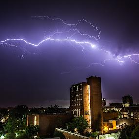 Lightning by John Spain - Landscapes Weather