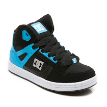DC Glow In the Dark Trainer HIGH TOP