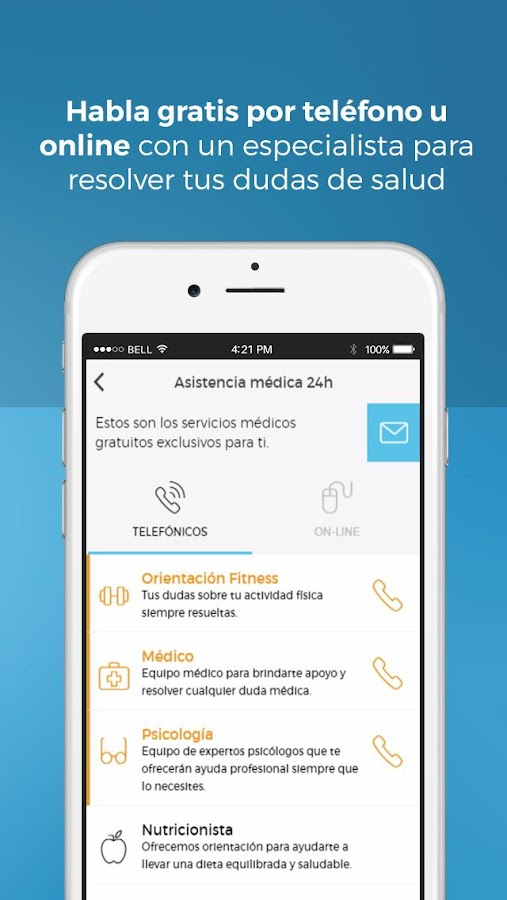 AXA Health Keeper Screenshot 1
