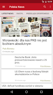 Polska News - screenshot