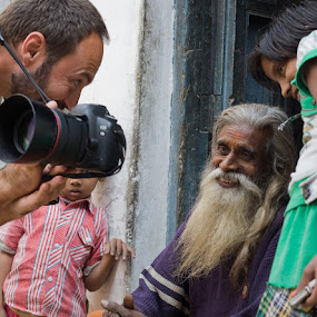 joy of the photographer and people by Santosh Pandey - People Street & Candids ( photographer, taking photos, pwc75,  )