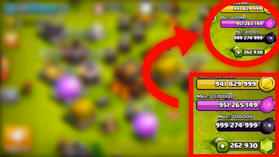 Free Gems and Coins for Clash Of Clans Cheat prank