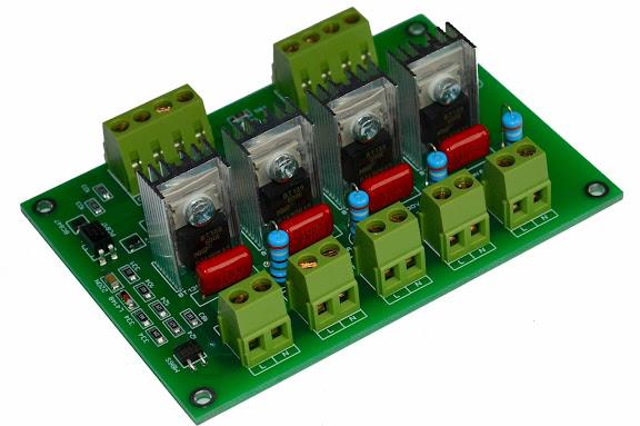 4CH DIN AC Light Dimmer Arduino
