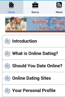 Senior Dating Guide - screenshot