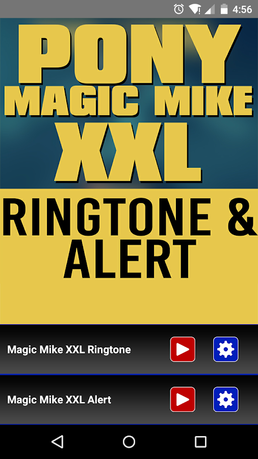 Magic Mike XXL Ringtone und Alert android apps download