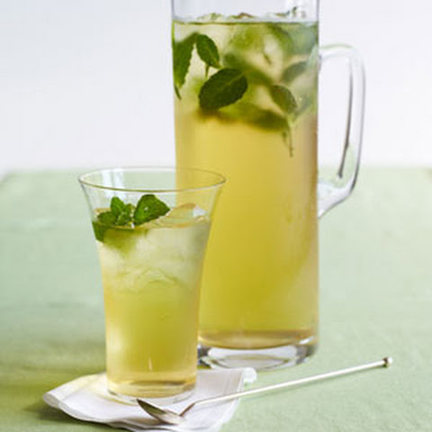 Minty Iced Green Tea