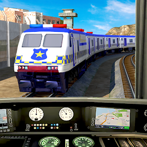 Police Train Simulator 3D: Prison Transport