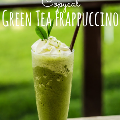 Starbucks Copycat Green Tea Frappuccino