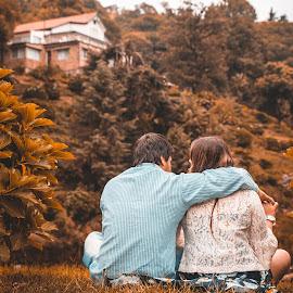 Juntos a la par by Israel Vasquez - Wedding Bride & Groom ( novio, amor, novia, boda )