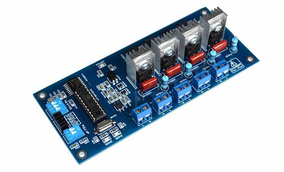 4CH I2C AC Light Dimmer Arduino