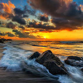 Waves That Separates Me From You by Satrya Prabawa - Landscapes Beaches