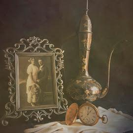 The Wedding Portrait by LINDA HALLAUER - Digital Art Things