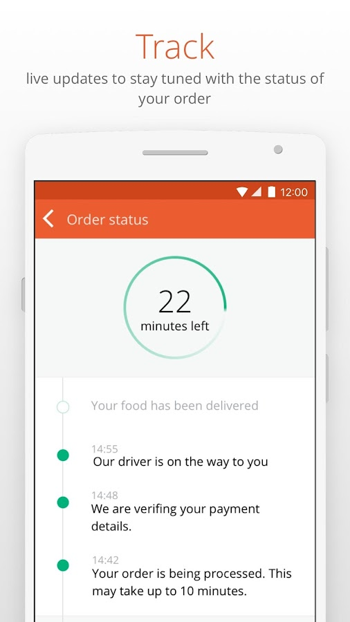 hellofood - Food Delivery Screenshot 4