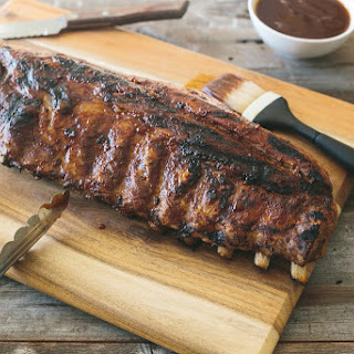 Barbeque Ribs with Spiced Rum Pineapple Sauce