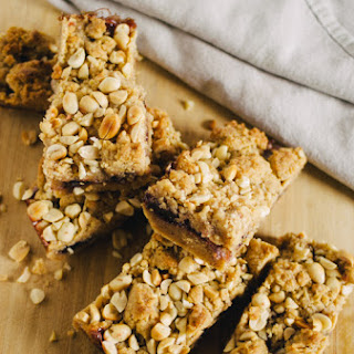 Vegan Peanut Butter and Jelly Bars