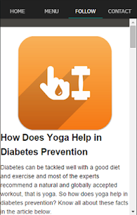 Diabetes Exercise Work Out - screenshot