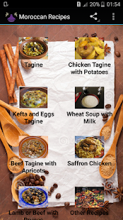 Morrocan Recipes - screenshot