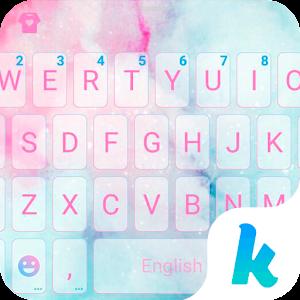 Cotton Candy Kika Keyboard