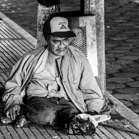 Car Lights in my eyes by Kate Anthony - People Street & Candids ( third world country, santa cruz bolivia, homeless, bolivia, bolivian poverty, street photography )