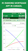 Screenshot of Canadian Mortgage App